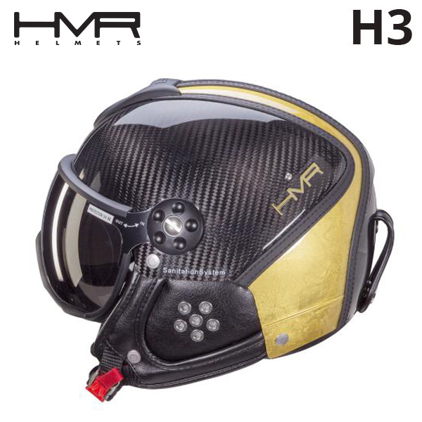 햄머헬멧 HMR H3 Limited Edition Yellow Gold 24k-White Diamond