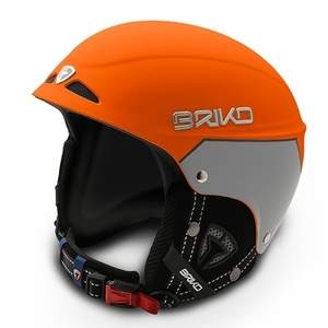 스키헬멧,브리코헬멧 1516 BRIKO SNOWY-MATT ORANGE LAVA MATT SILVER STEAM