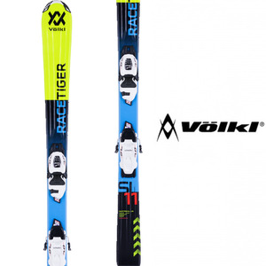 뵐클스키 1718 VOLKL Junior Racetiger 3Motion YELLOW + 4.5 VMotion Jr. 어린이스키