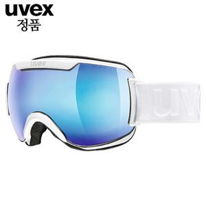 우벡스고글 1617 UVEX downhill 2000 FM ASIAN FIT all white