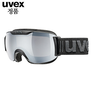 우벡스고글 1617 UVEX downhill 2000 VLM ASIAN FIT all black