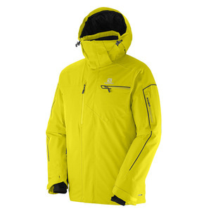 살로몬 스키복 SALOMON BRILLIANT JKT YELLOW