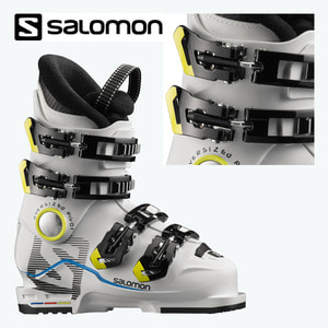 아동 스키부츠 1718 SALOMON X MAX 60T WHITE