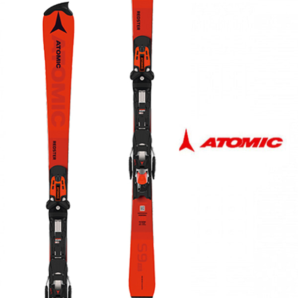 아토믹 레드스터 1920 ATOMIC S9 FIS JR +N Z 12 RED/BLACK