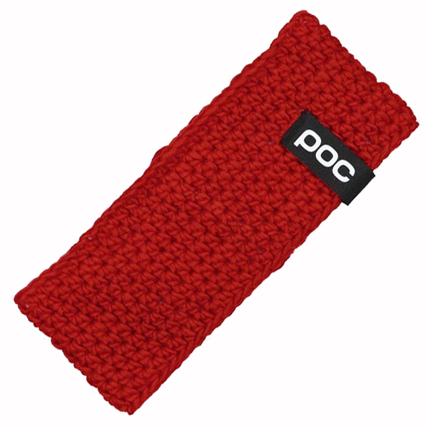 스키헤어밴드 POC CROCHET HEADBAND RED