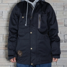 본파이어 보드복 14/15 BONFIRE M UTILITY JACKET B DENIM BLACK 보드자켓
