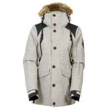 686 보드복 1516 686 Wmn PARKLAN Ceremony Insulated Jacket-Ivory Lattice Slub 여성 686보드자켓