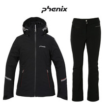 피닉스스키복 1617 PHENIX POWDERSNOW JACKET BK+W-Adjustable Salopette BK