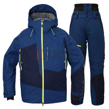 스키복 1718 PHENIX SPRAY INSULATION SKI WEAR SET NV