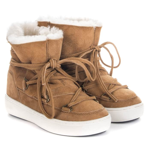 아동 문부츠 PULSE JR GIRL SHEARLING WHISKY