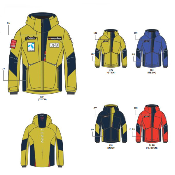 2021 피닉스 아동스키복 NORWAY ALPINE TEAM JR JKT